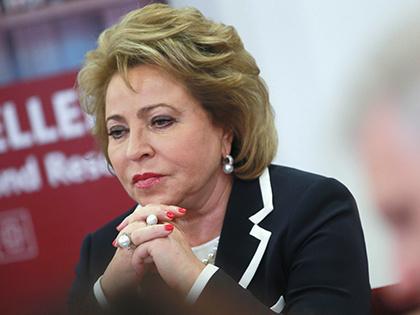 Матвиенко: ЦБдолжен облегчить банковское кредитование для русских регионов