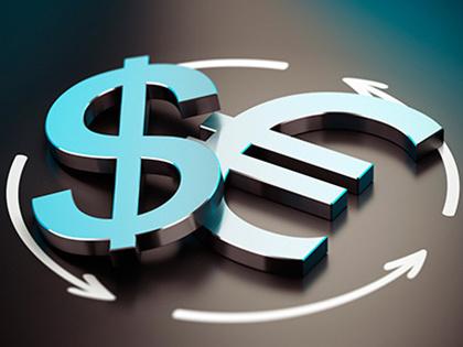 ЦБподнял официальные курсы доллара иевро